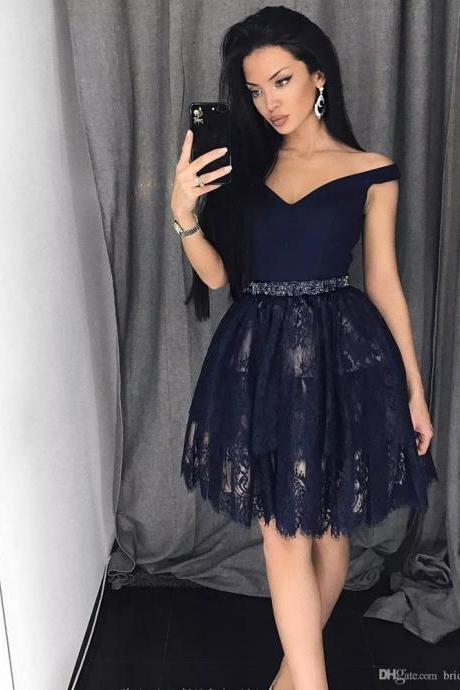 Homecoming Dress, Off-the-shoulder Homecoming Dress, Short Homecoming Dress, Navy Homecoming Dress, Lace Homecoming Dress, Ball Gown Homecoming Dress, Cocktail Dress, Short Cocktail Dress, Off-the-shoulder Cocktail Dress, Prom Dress, Short Prom Dress, Off-the-shoulder Prom Dress
